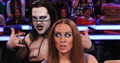 Flo imita a Marilyn Manson / antena3.com