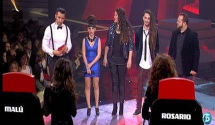 Finalistas 'La Voz' / telecinco.es
