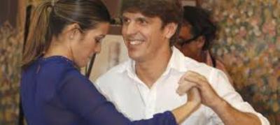 Manuel Díaz 'El Cordobés' y su mujer, Virginia Troconis